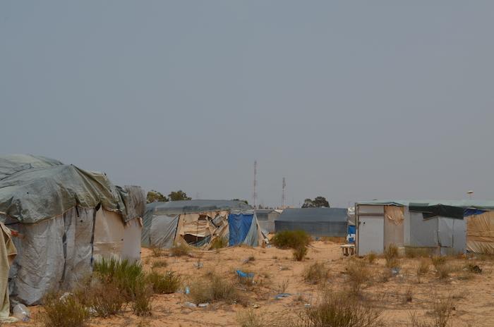 مخيم الشوشة في يونيو 2016(نائلة الحامي/ألترا صوت)