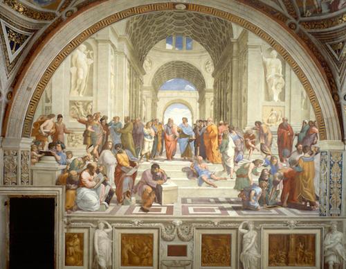 مدرسة اثينا