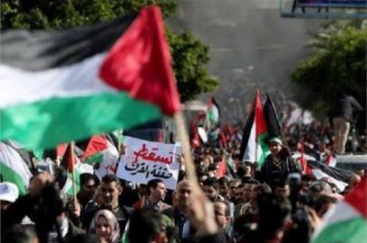 بحضور بحريني إماراتي.. ترامب يعلن تفاصيل مشروعه لتصفية القضية الفلسطينية