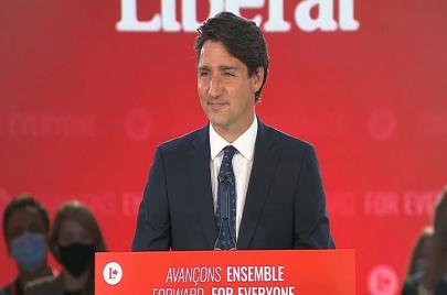 فوز الليبراليين بزعامة ترودو في الانتخابات الكندية والمحافظون يقرون بالهزيمة