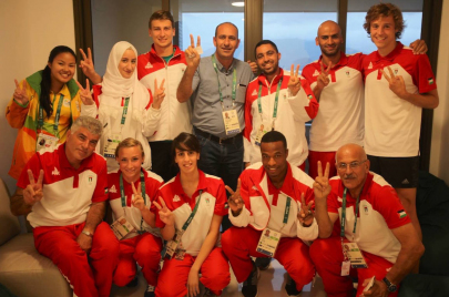 أولمبياد ريو.. ستة رياضيين يمثلون فلسطين