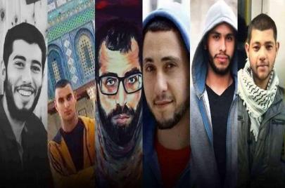 6 نشطاء معتقلون في سجن للسلطة يضربون عن الطعام