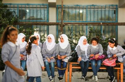 مدارس غزة.. للأمهات أيضًا
