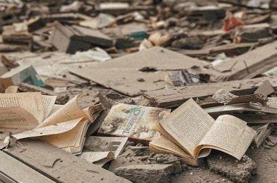 في غزة المكتبة تواجه حربًا