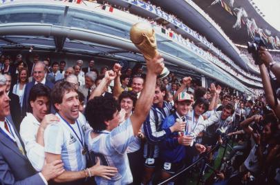 الألمان في نهائي 1986.. لقد شاهدنا مارادونا!
