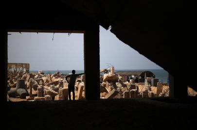 الغريق يتعلق بقطعة أرض في غزة
