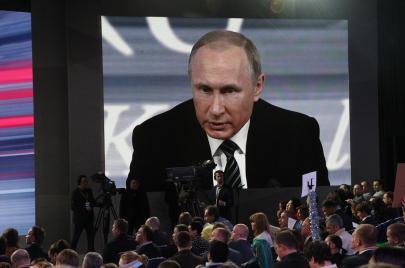 بوتين المؤسطر في الإعلام السوري