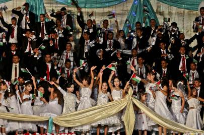 الزواج في غزة..