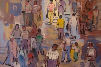 شارع اللاجئين