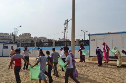 التطوع ملاذ الموريتانيين من السياسة