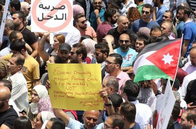 #إضراب_الأردن.. حراك شعبي واسع احتجاجًا على قانون ضريبة الدخل