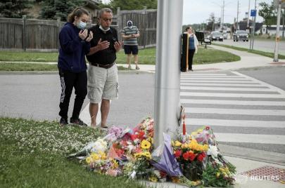بدافع الكراهية: مقتل عائلة كندية مسلمة في جريمة دهس متعمّد