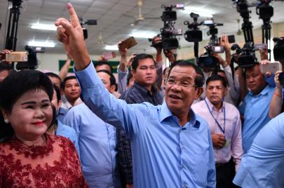 نسخة كمبوديا من القمع الانتخابي.. المقاطعة ممنوعة!