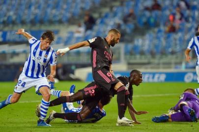 افتتاح الليغا.. تعادل مخيّب لريال مدريد أمام ريال سوسيداد