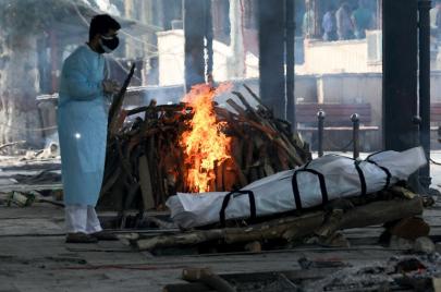 أكثر من 4000 وفاة كورونا في الهند خلال 24 ساعة