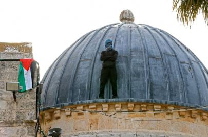 مع استمرار المواجهات في القدس وسم