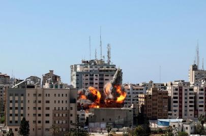الاحتلال يدمّر برجًا جديدًا في غزّة والقسّام تتوّعد بردّ