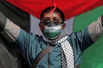 اعتقال شاب في إندونيسيا بسبب نشره مقطع فيديو مسيء لفلسطين