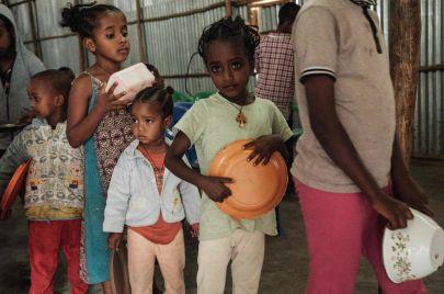 اليونيسف: 100 ألف طفل مهددون بالموت جوعًا في إقليم تيغراي