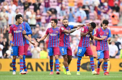 الدوري الإسباني.. برشلونة يظهر بثوبه الحقيقي ويعود لسكة الانتصارات