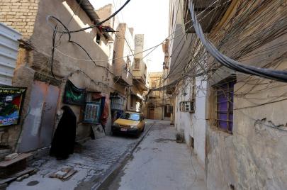 شوارع بغداد.. خراب وفوضى