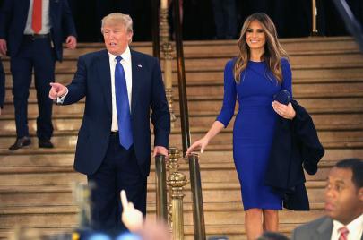 ميلانيا ترامب.. الجسد العاري للسياسة الأمريكية