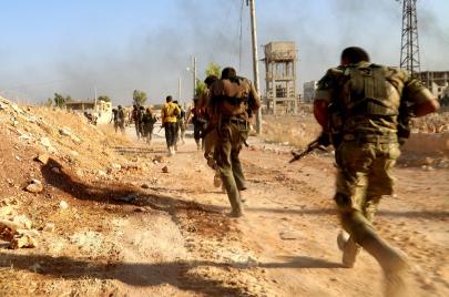 المعارضة السورية تواصل تقدمها في