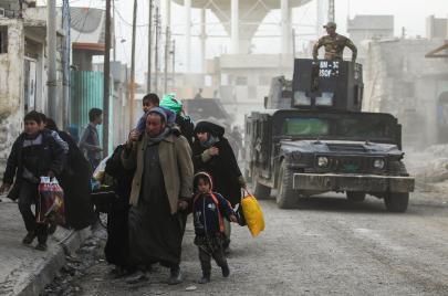 تحرير غرب الموصل.. بالقصف العشوائي ودماء المدنيين