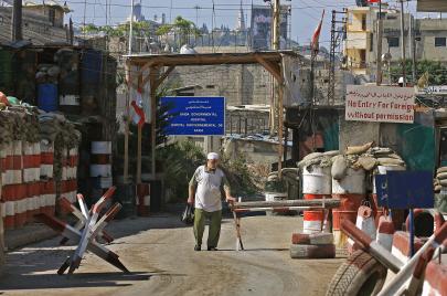 أمن المخيمات في لبنان..