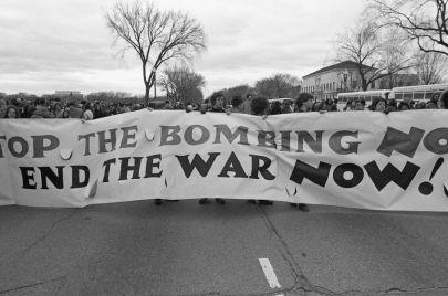 أين اختفت حركات مناهضة الحرب في الولايات المتحدة؟
