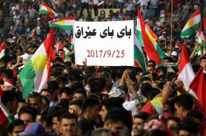 الإمارات والسعودية على هوى إسرائيل في دعم انفصال كردستان العراق