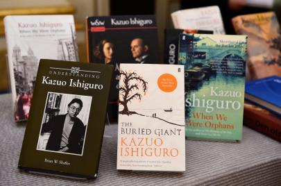 صورة شخصية لكازو إيشيغورو