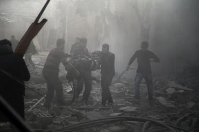مذبحة القرن 21.. الغوطة الشرقية تحت وطأة أعنف الهجمات الدموية من النظام السوري