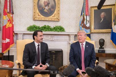 تقدير موقف: القمة الأمريكية القطرية.. تعزيز العلاقات وسقوط رهانات دول الحصار