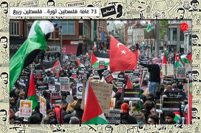 فلسطين هي الربيع العربي.. والعالمي أيضًا
