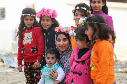 غزة.. ورود دانا للسلام