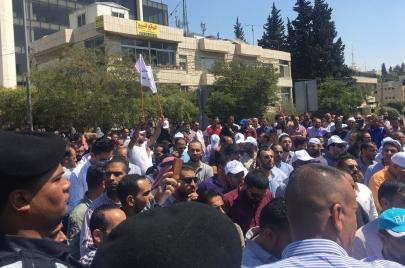 اعتصام المعلمين في الأردن.. قوات الأمن تهدر المزيد من الحقوق