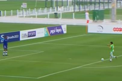 فيديو: درس في الروح الرياضية من أطفال قطر وفلسطين