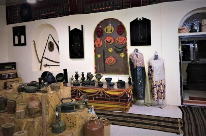 بيت الموروث الشعبي.. متحف في منزل سيدة يمنية