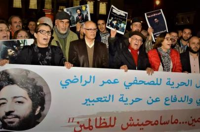 للقمع در.. موجة اعتقالات بسبب الرأي في المغرب