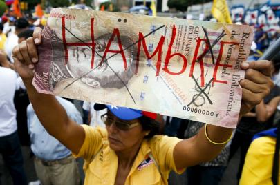 إفلاس وقلق سياسي واجتماعي.. فنزويلا على حافة الانهيار